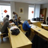 拉脱维亚大学孔子学院成功举办2015年度第一次HSK考试