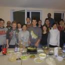 雷泽克内大学孔子课堂举办中国美食文化体验活动