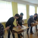 A Series of Chinese Fun Games was held in Riga No.34 Secondary School