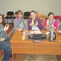 道加瓦皮尔斯大学孔子课堂成功举办茶艺文化课。