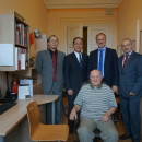 Chinese Ambassador and Latvian State Secretary Visited LUCI
