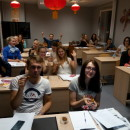 Students and Chinese Teachers of Confucius Institute at University of Latvia Celebrated Mid-Autumn Festival