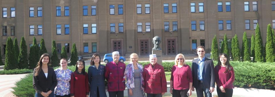 Directors of LUCI visited Confucius Classroom at Daugavpils University