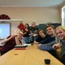 (中文) 拉脱维亚大学孔子课堂的大孩子们欢庆中秋