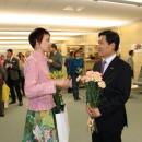 """""""Whine Crane Stretching Wings"""" Chinese Painting Exhibition Inaugurated in  National Library of Latvia"""