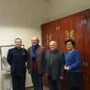 拉脱维亚大学孔子学院一行成功访问立陶宛维尔纽斯大学孔子学院