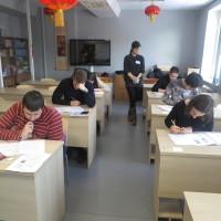 拉脱维亚大学孔子学院举行2016年度下半年HSK、HSKK考试