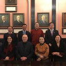 A Delegation of Officials in Charge of International Cooperation from Top Universities in China Visited Confucius Institute at University of Latvia