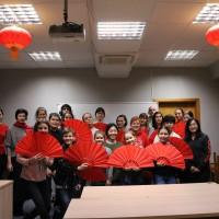 拉脱维亚大学孔子学院中国文化体验活动——武术