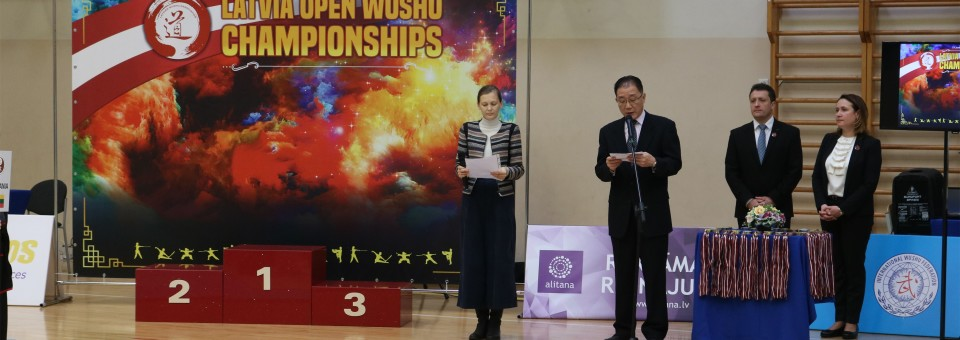 """Heroes from Youngsters——Opening Ceremony of """"the 5th Latvia Open Wushu Championships"""" was Hold by Riga Culture Secondary School"""