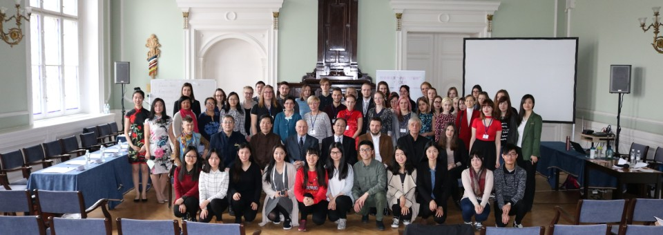 "The 14th ""Chinese Bridge"" Chinese Competition in Latvia was Successfully Held in University of Latvia"