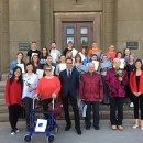 Work conference and graduation ceremony held by Confucius Classroom at Daugavpils University