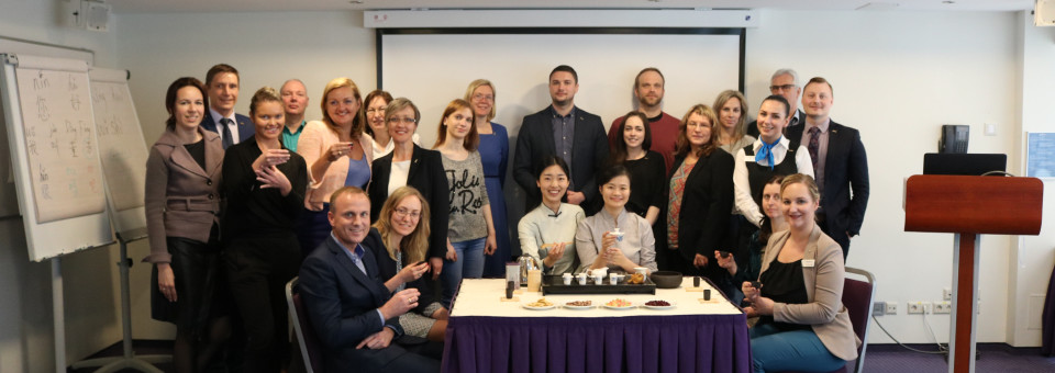 The Fragrance from Tea Ceremony Overflows—LUCI Introduces the Chinese Tea Culture to Radisson Blu Hotel in Latvia
