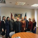 Directors of Confucius Institute at University of Latvia Visiting Western Part of Latvia