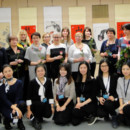 "The Opening Ceremony of ""笔舞墨歌""Chinese Painting and Calligraphy Exhibition Was Held at the National Library of Latvia"