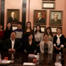 Confucius Institute at the University of Latvia and City University of Hong Kong Delegation Held Experience Exchange Meeting
