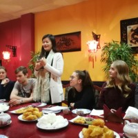China Alumni Association of Latvia and Confucius Institute at the University of Latvia Held Chinese Corner Activity Together