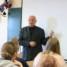 Professor Pildegovičs giving a Lecture about Contemporary China in Riga Culture Secondary School