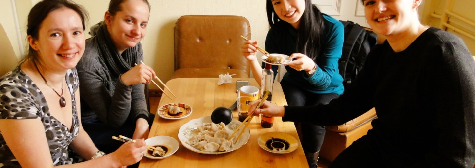 """Approaching China,Making Dumplings""Chinese Culture Experience Activity was held in Latvian Academy of Culture"