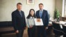 Volunteer Chinese Teacher Zhao Qian Received Gratitute Letter from Rezekne City Government and Rezekne Academy of Technologies