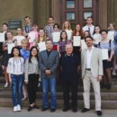 Annual General Meeting and Chinese Graduation Ceremony Were Hold Successfully at Daugavpils University