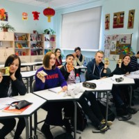 Riga 34.Secondary School Experienced Mid-Autumn Festival