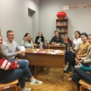 Confucius Classroom at Daugavpils University celebrating 2018 Mid-autumn Festival
