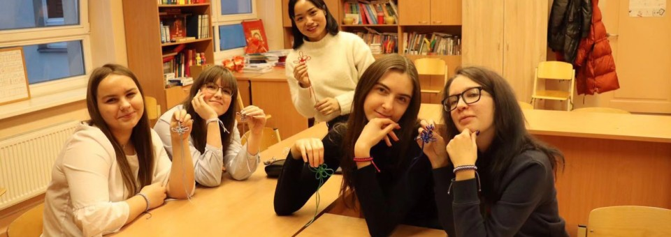 Chinese Cultural Week was successfully hosted by Confucius Classroom of Riga Culture Secondary School