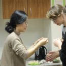 the Chinese Cultural Experience of Making Dumplings — Riga 34 Secondary School
