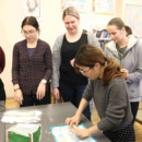 Latvian Academy of Culture held a cultural experience of making dumplings