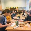 The Confucius Classroom at Riga Culture Secondary School held dumplings-making activity to celebrate the Lantern Festival