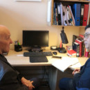 Prof. Peteris Pidegovics accepted an interview with the People's Daily