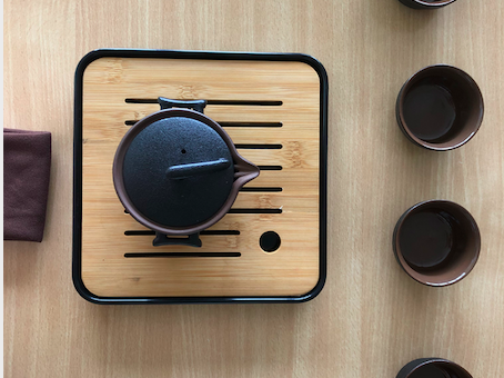 Experience the Chinese tea ceremony in Vidzeme University of Applied Sciences.