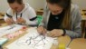 Chinese Culture Lesson in Liepaja University—Blowing Painting