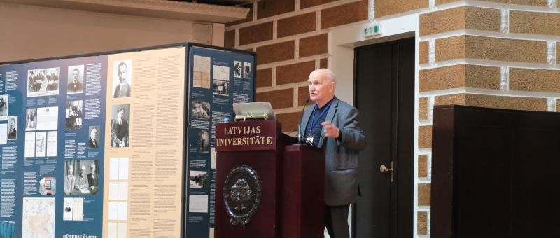 """""""Personality at the Crossroads of Culture and Languages"""" ——International Scientific Conference of Professor Pēteris Šmits was successfully held"""