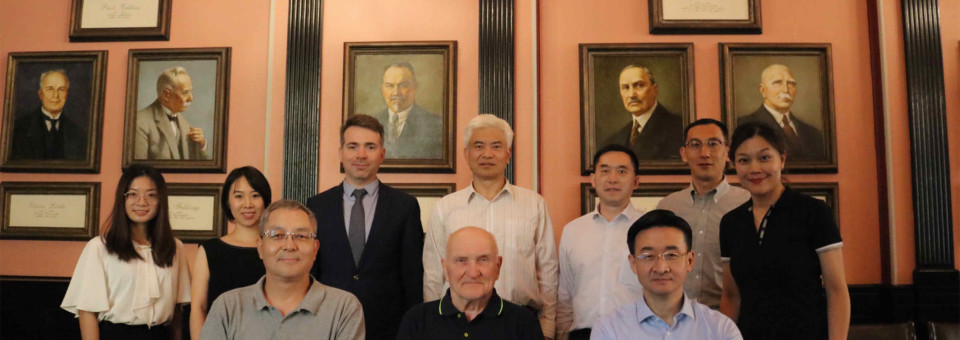 Delegation of Foreign Affairs Office of Guangdong Province Visits Confucius Institute at the University of Latvia