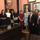 Delegation from Jinan University paid a visit to University of Latvia