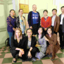 A delegation from the China Academy of West Region Development of Zhejiang University visited the Confucius Institute at the University of Latvia