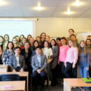 Professors of Fudan University successfully hold a lecture in Faculty of Humanities at University of Latvia