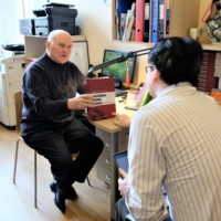 Professor Pildgovics Was Interviewed by Guangming Daily