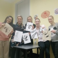 Chinese Painting Cultural Activity Successfully Held in Liepaja University