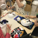 The Chinese cultural experience lesson in Montessori Elementary School——Peking Opera Mask Painting