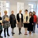 An Exhibition Was Held by a Latvian Artist at Daugavpils University ——The Innovation of Combining Chinese Calligraphy and European Culture