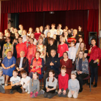 2020 Riga Daugavgriva Secondary School Welcomes Golden Rats