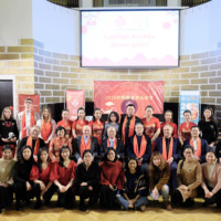 """""""Jade Rat Welcomes New Year"""" –2020 Latvian Spring Festival Successfully Held"""