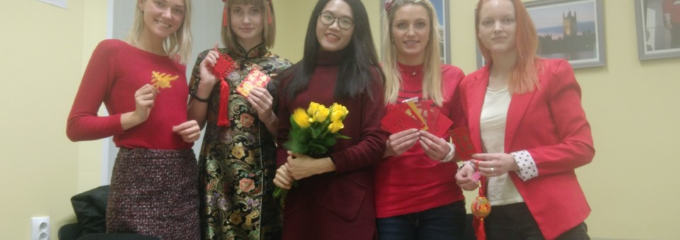 Spring Festival Activity of 2020 successfully held in Liepaja University