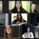 The online Chinese classes of Riga Daugavgriva Secondary School were launched successfully