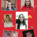 Jade Rat Farewell to the Old Year  Golden Ox—Celebration of the New Year Warmly Celebrate the smooth development of Spring Festival Cultural Theme Course in Confucius Classroom at Riga Culture Secondary School