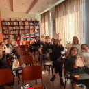 Virtual and Non-Virtual, Students of Faculty of Humanities Enjoys the Mid-Autumn Moon Together