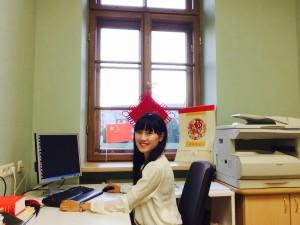 25.雷泽克内大学办公室Chinese Teacher's Office